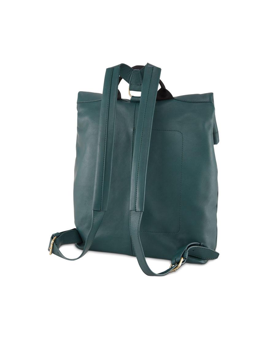 BREE Stockholm 13 atlantic deep leather backpack δέρμα σακίδιο πλάτης πράσινο σκούρο 2019 - 2020