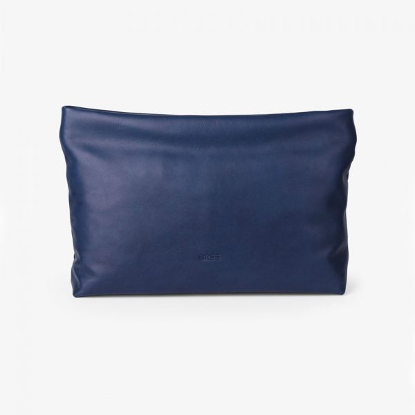 BREE Stockholm 32 medieval blue leather clutch δέρμα τσάντα φάκελος μπλε 2019