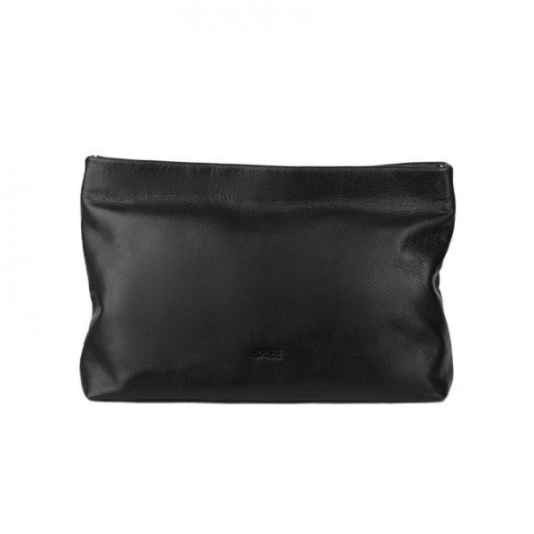 BREE Stockholm 32 black leather clutch δέρμα φάκελος μαύρο 1970