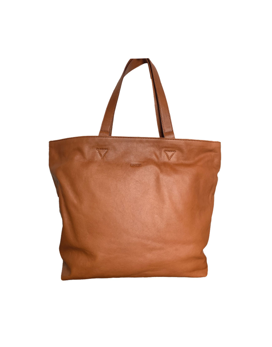 BREE Stockholm 34 whisky leather shoulder bag δέρμα τσάντα ώμου καφέ ταμπά 2019