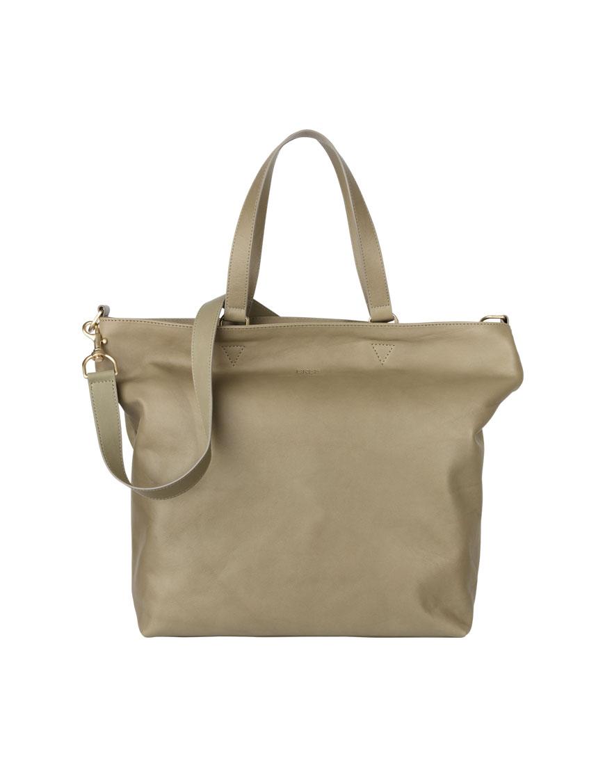 BREE Stockholm 34 celery leather shoulder bag δέρμα τσάντα ώμου πράσινο 2019