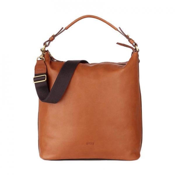 BREE Stockholm 42 whisky leather hobo bag shoulder bag δέρμα τσάντα ώμου και ταχυδρομική καφέ ταμπά 2019