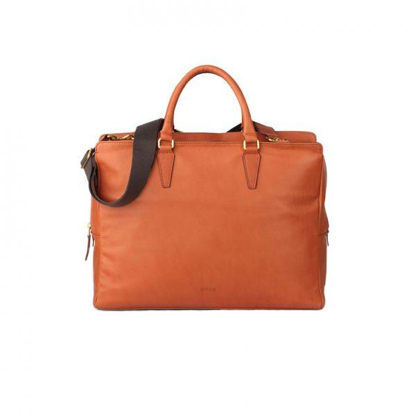 BREE Stockholm 43 whisky leather business short handle bag bag δέρμα τσάντα επαγγελματική με κοντά χέρια καφέ ταμπά 2019