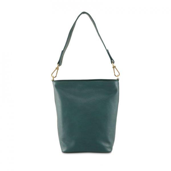BREE Stockholm 44 atlantic deep leather shoulder bag δέρμα τσάντα ώμου πράσινο σκούρο 2019 - 2020