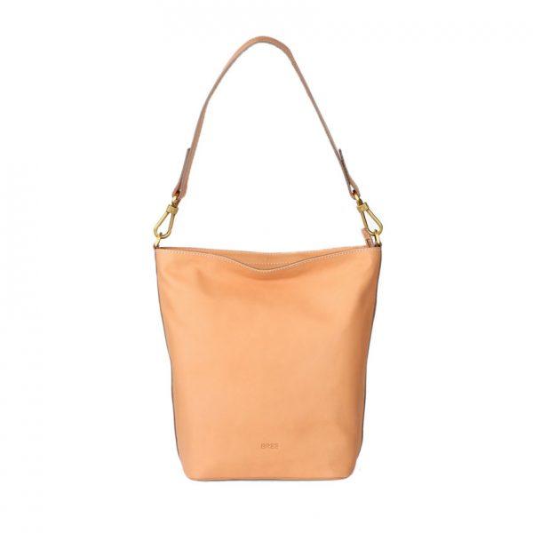 BREE Stockholm 44 nature leather shoulder bag δέρμα τσάντα ώμου φυσικό χρώμα του δέρματος 1970