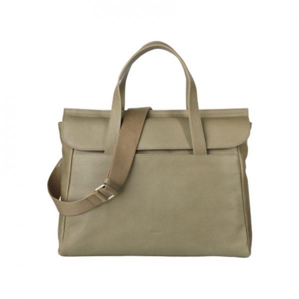 BREE Stockholm 45 celery leather business bag δέρμα τσάντα επαγγελματική πράσινο 2019