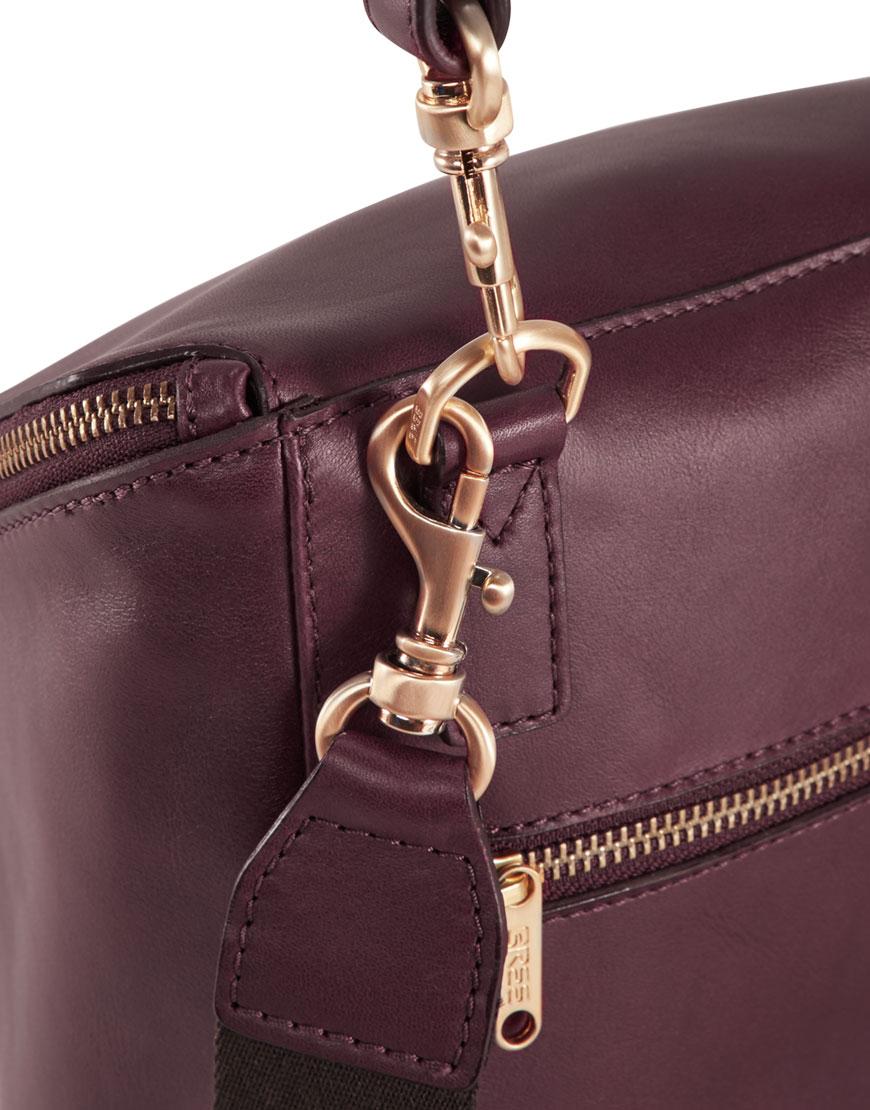 BREE Stockholm 49 mauve wine leather backpack μπορντώ κόκκινο σκούρο σακίδιο πλάτης δέρμα 2019-2020