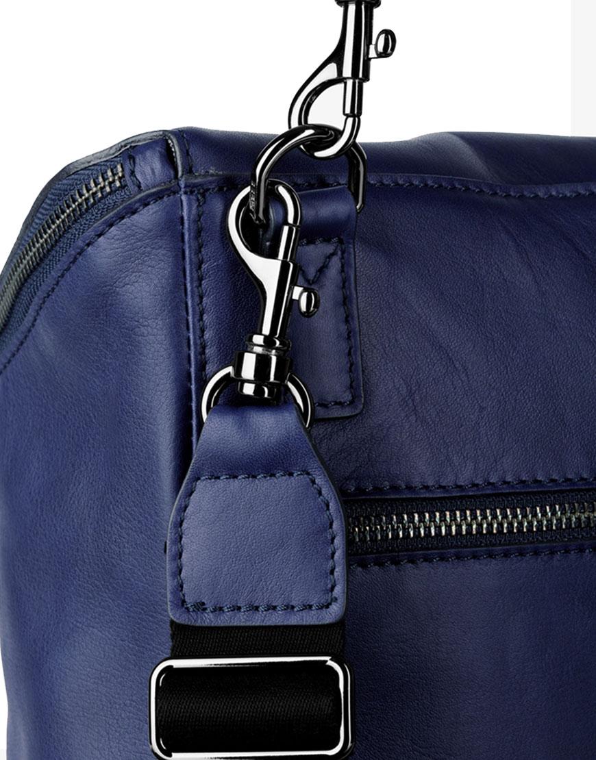 BREE Stockholm 49 medieval blue leather backpack μπλε σακίδιο πλάτης δέρμα 2019
