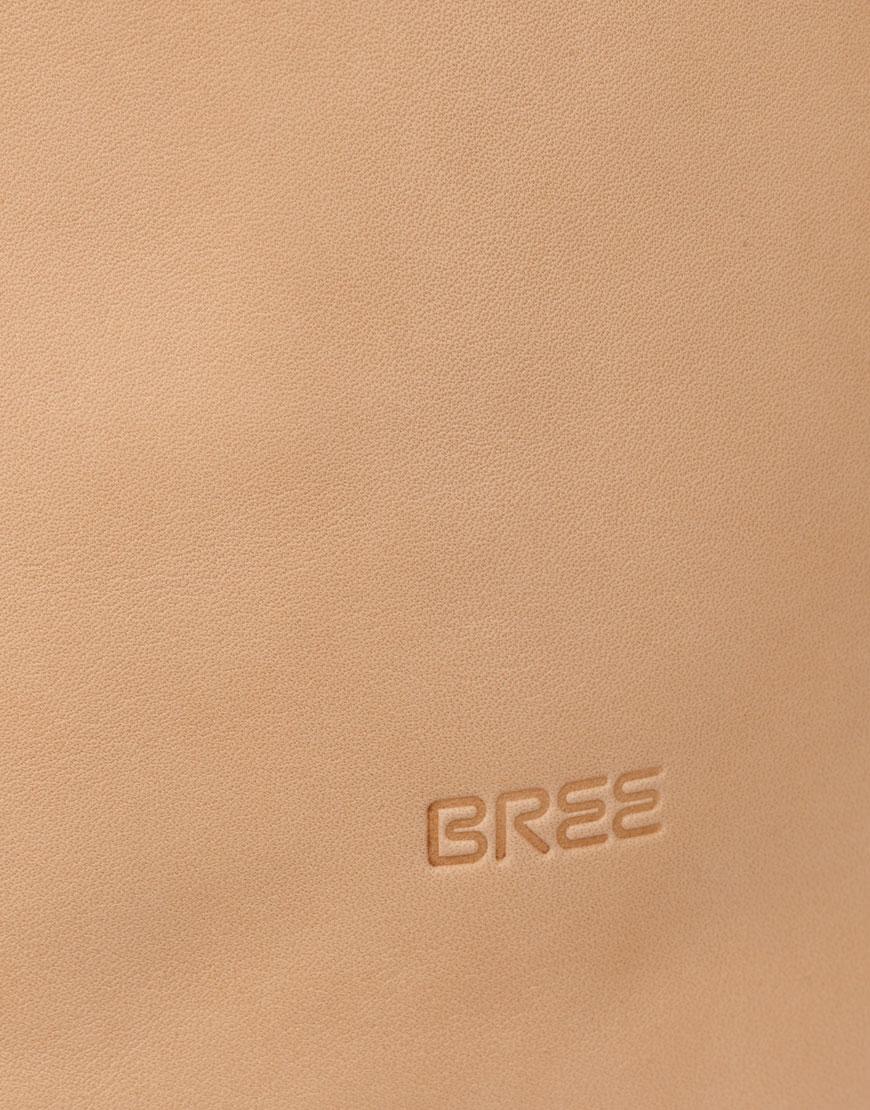BREE Stockholm 49 nature leather backpack φυσικό χρώμα του δέρματος σακίδιο πλάτης δέρμα 1970