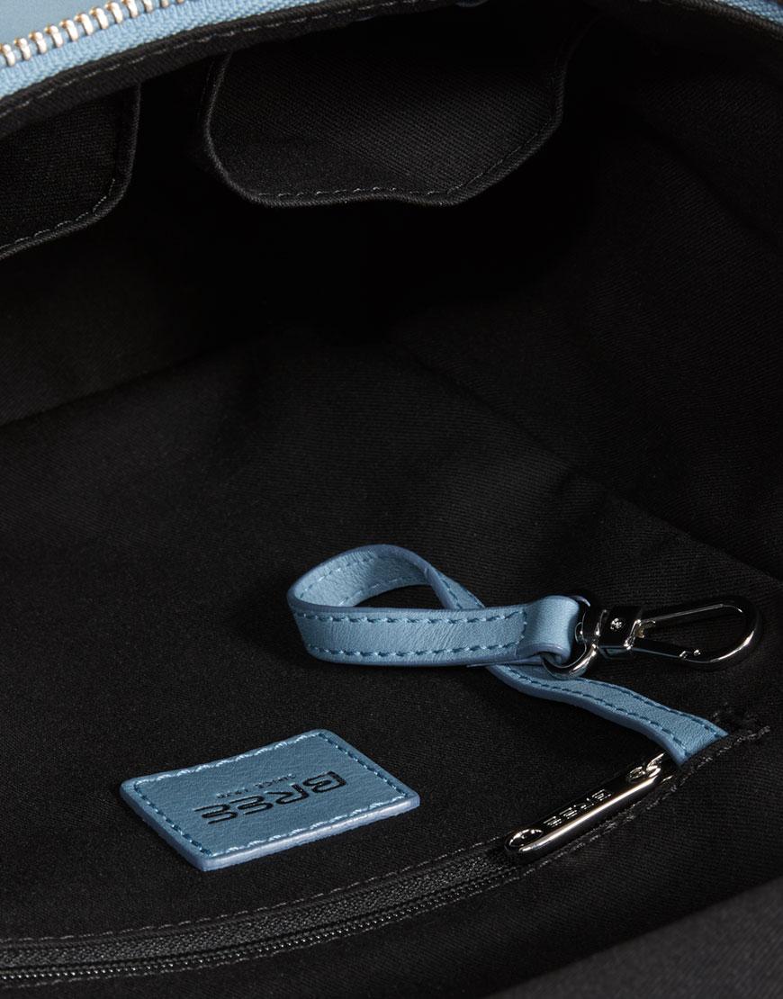 BREE Stockholm 49 provincial blue leather backpack μπλε γαλάζιο σακίδιο πλάτης δέρμα 2019-2020