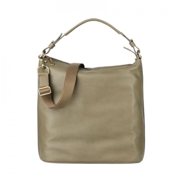 BREE Stockholm 5 celery leather shoulder bag δέρμα τσάντα ώμου πράσινο 2019