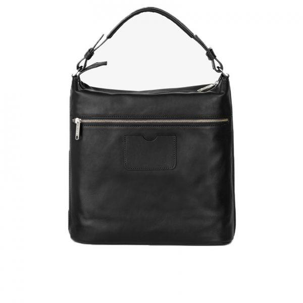 BREE Stockholm 5 black leather shoulder bag δέρμα τσάντα ώμου μαύρο 1970