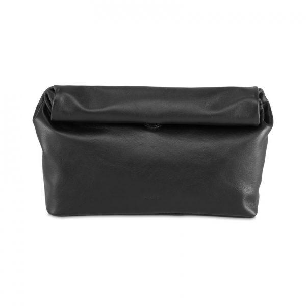 BREE Stockholm 50 black leather clutch δέρμα φάκελος μαύρο 1970