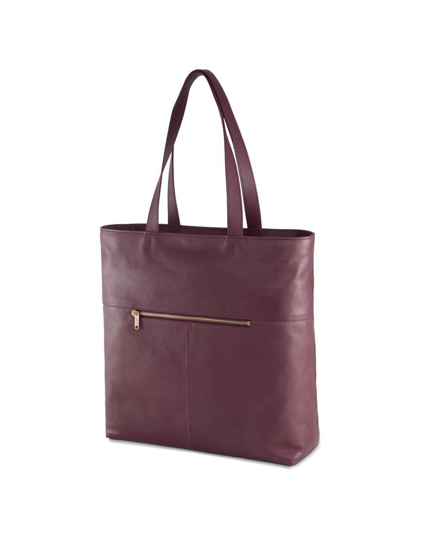 BREE Stockholm 52 mauve wine leather shoulder bag δέρμα τσάντα ώμου μπορντώ κόκκινο σκούρο 2019 - 2020