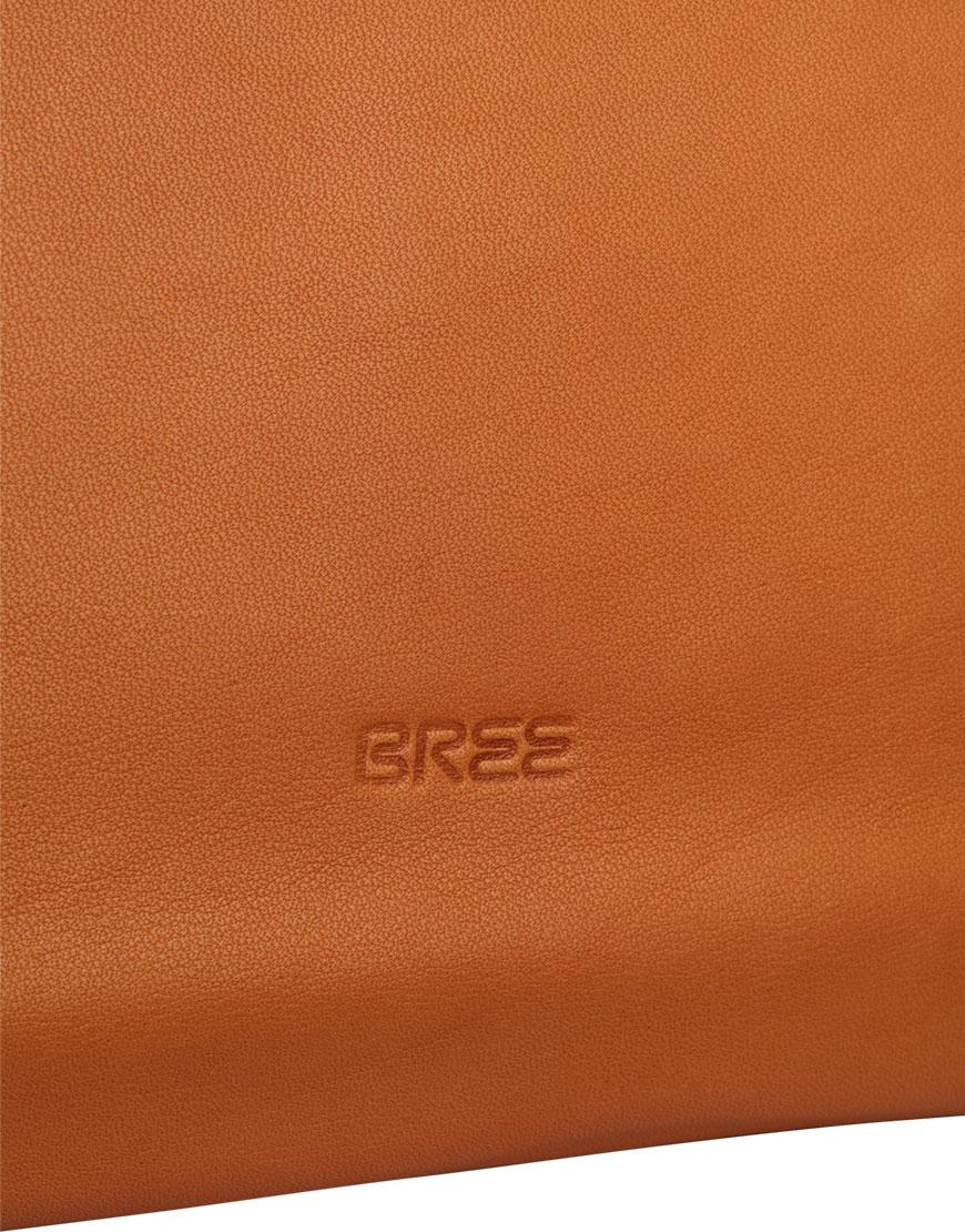 BREE Stockholm 52 whisky leather shoulder bag δέρμα τσάντα ώμου καφέ ταμπά 2019
