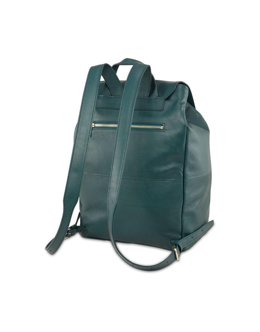 BREE Stockholm 53 atlantic deep leather backpack δέρμα σακίδιο πλάτης πράσινο σκούρο 2019 - 2020