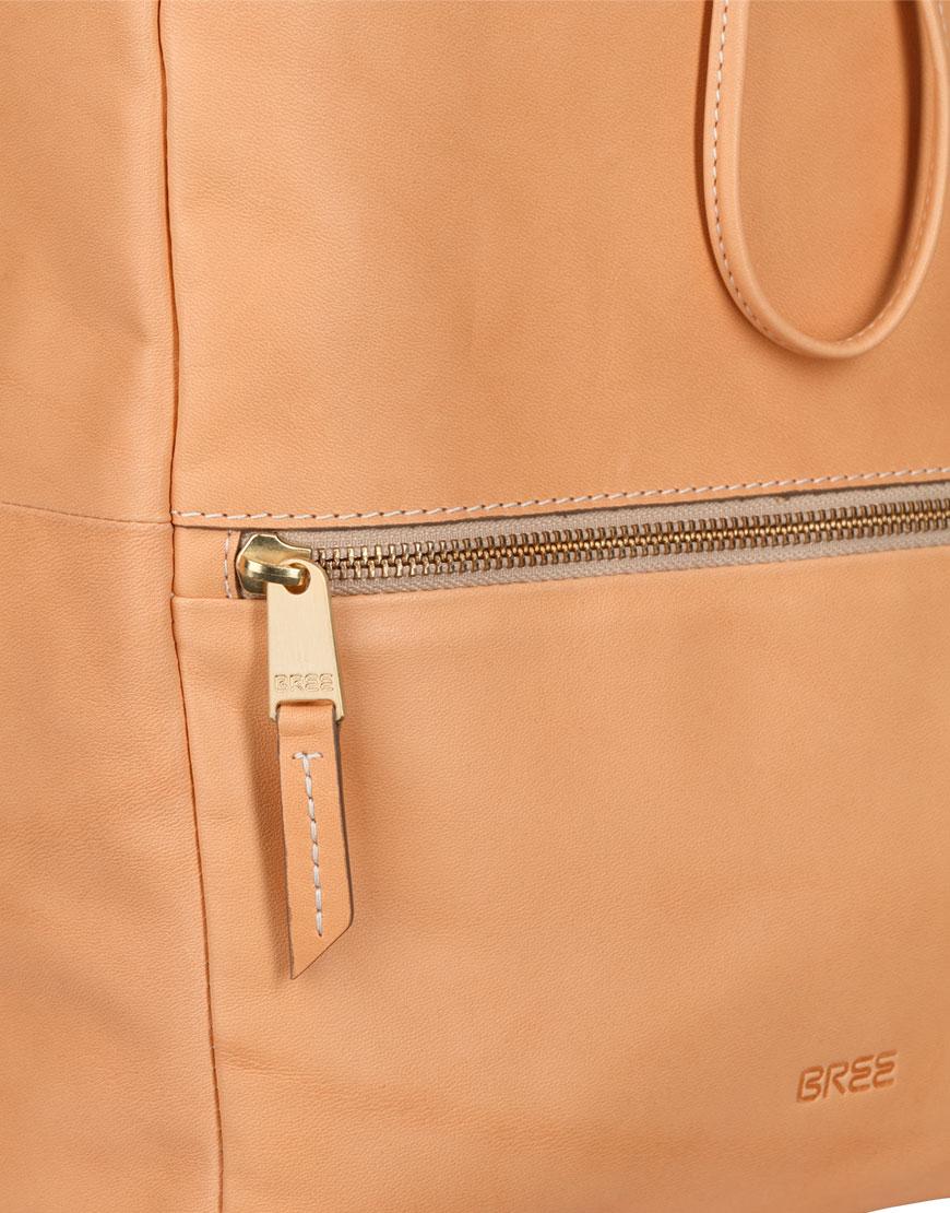 BREE Stockholm 53 nature leather backpack δέρμα σακίδιο πλάτης φυσικό χρώμα του δέρματος 1970
