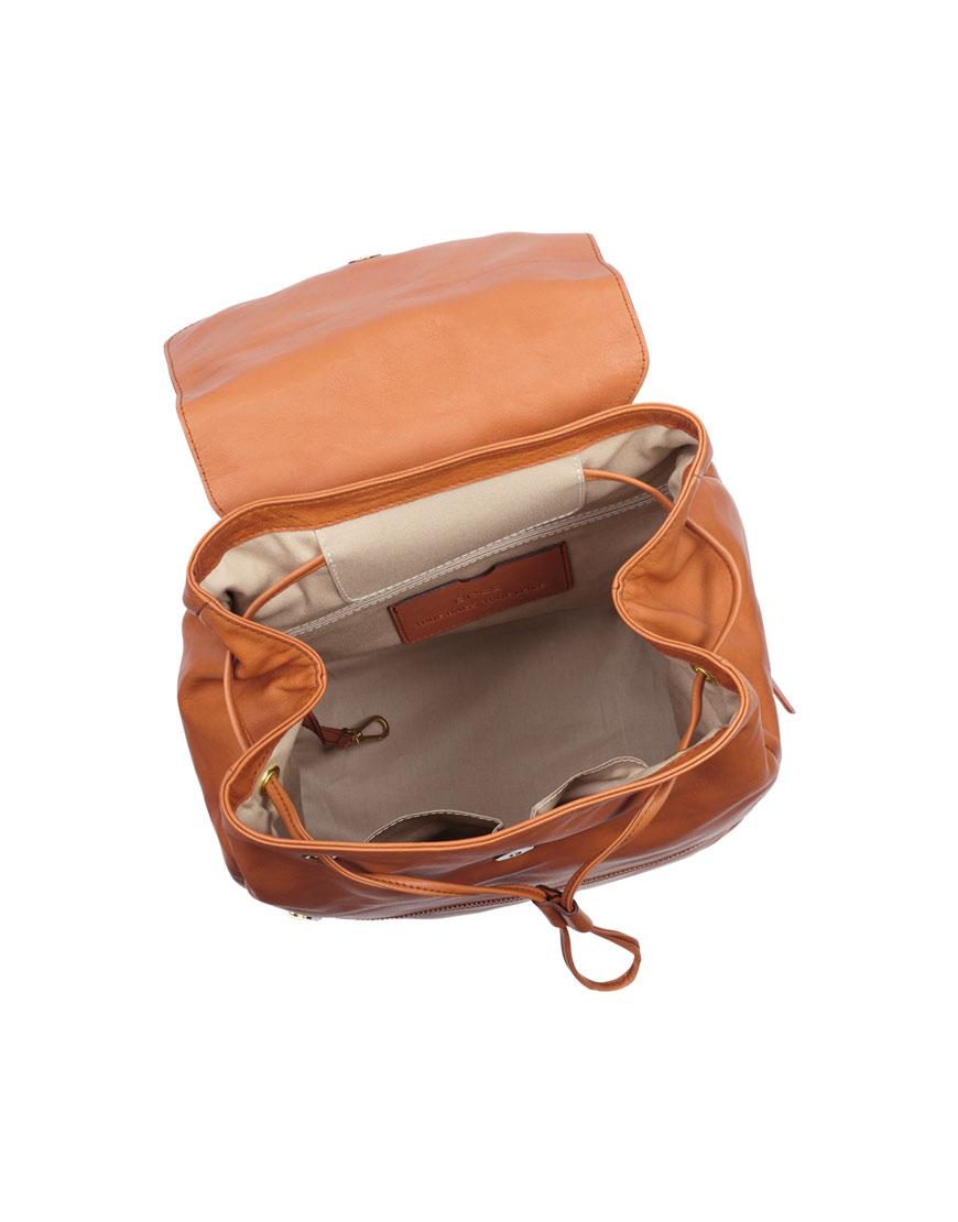BREE Stockholm 53 whisky leather backpack δέρμα σακίδιο πλάτης καφέ ταμπά 2019