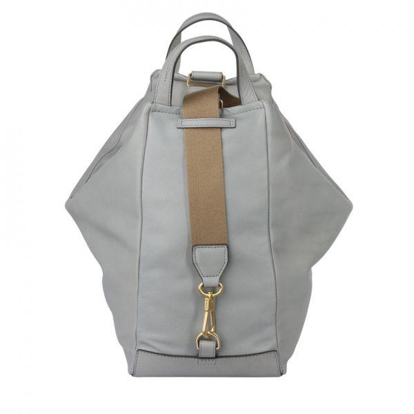 BREE Stockholm 54 belgian block leather shoulder bag δέρμα τσάντα ώμου γκρί ανοιχτό 2019